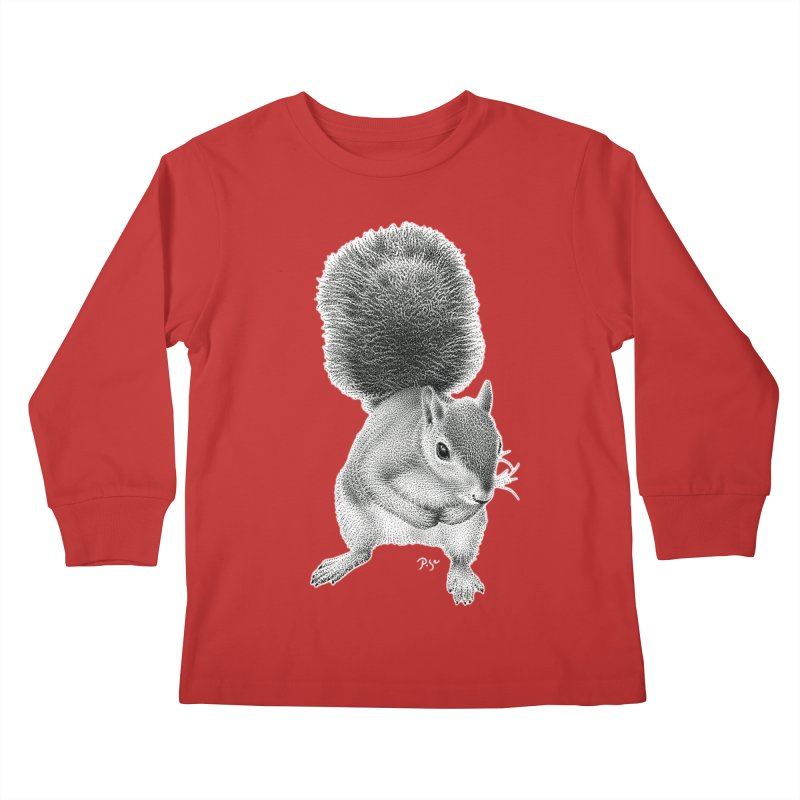 Request by Igor Pose Kids Longsleeve T-Shirt by IgorPose's Artist Shop