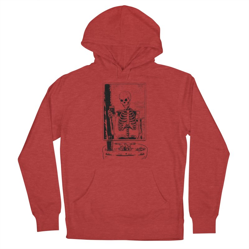 Skelfie Men's French Terry Pullover Hoody by Iheartjlp