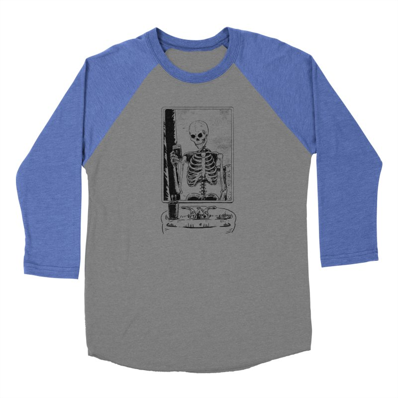 Skelfie Women's Baseball Triblend Longsleeve T-Shirt by Iheartjlp