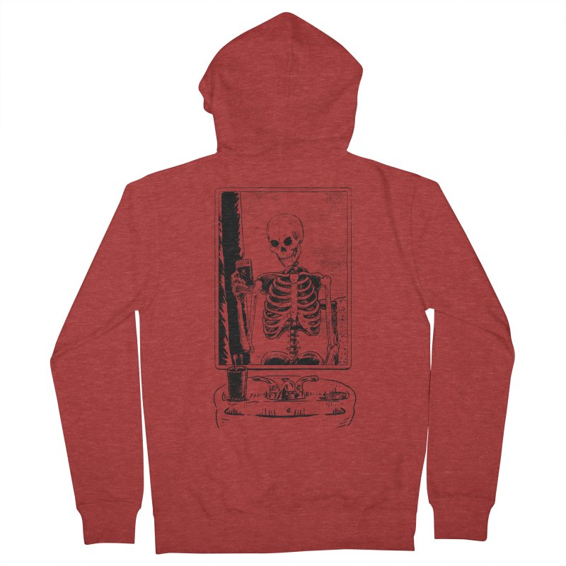 Skelfie Women's French Terry Zip-Up Hoody by Iheartjlp