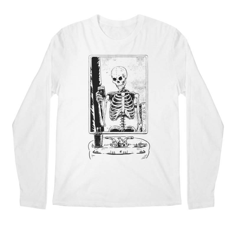Skelfie Men's Regular Longsleeve T-Shirt by Iheartjlp