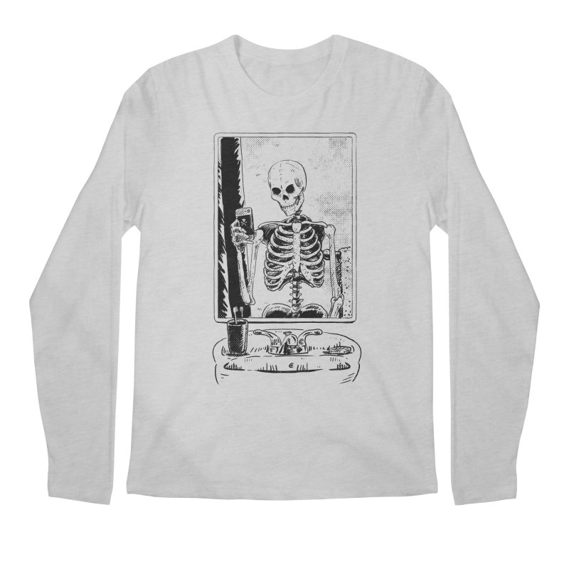 Skelfie Men's Regular Longsleeve T-Shirt by Iheartjlp