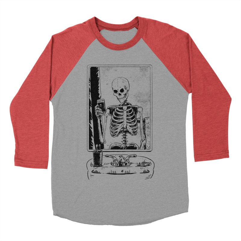 Skelfie Women's Baseball Triblend Longsleeve T-Shirt by Iheartjlp