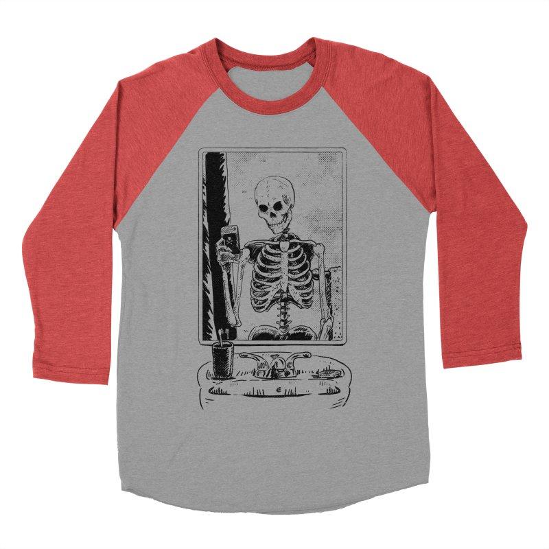 Skelfie Men's Baseball Triblend Longsleeve T-Shirt by Iheartjlp