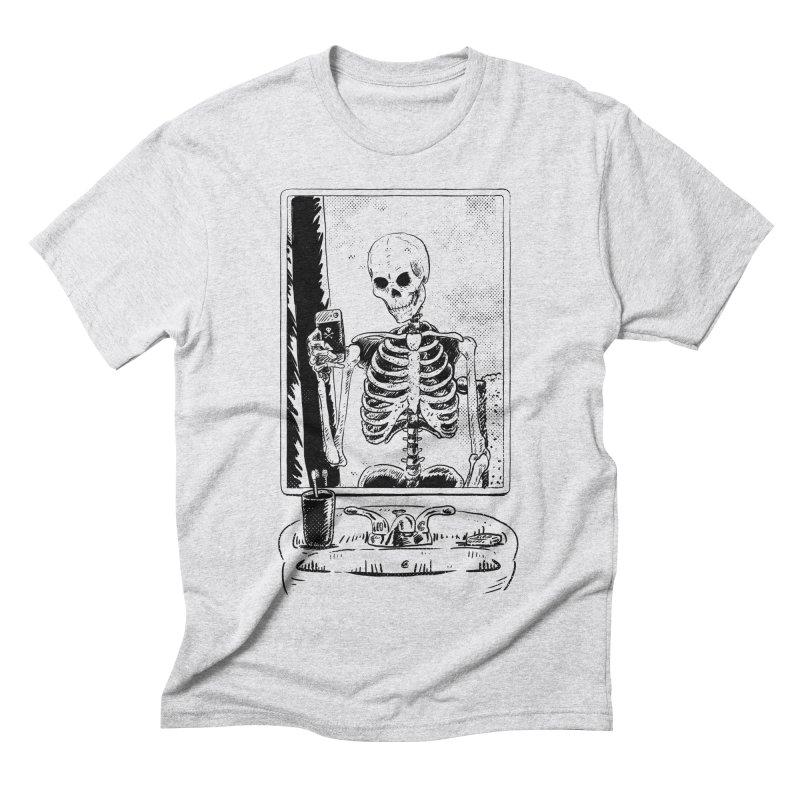 Skelfie Men's Triblend T-shirt by Iheartjlp