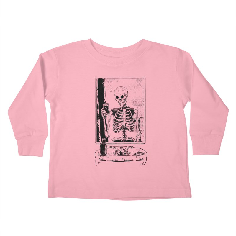 Skelfie Kids Toddler Longsleeve T-Shirt by Iheartjlp