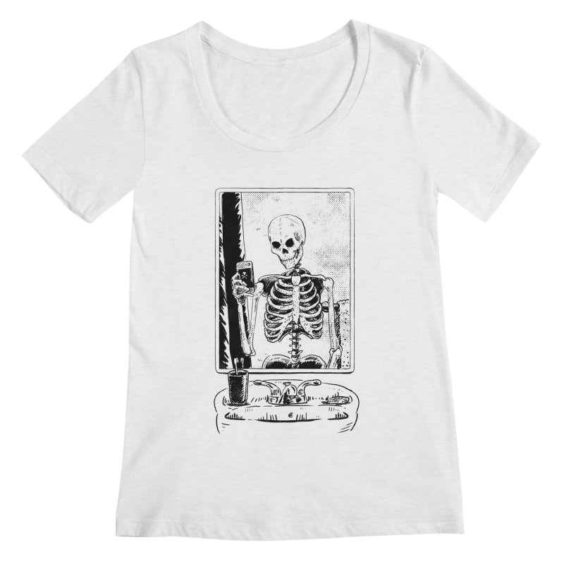 Skelfie Women's Scoop Neck by Iheartjlp
