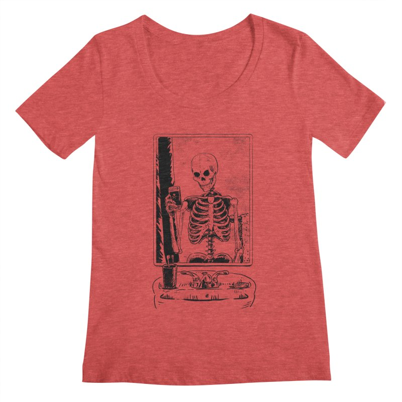 Skelfie Women's Scoopneck by Iheartjlp