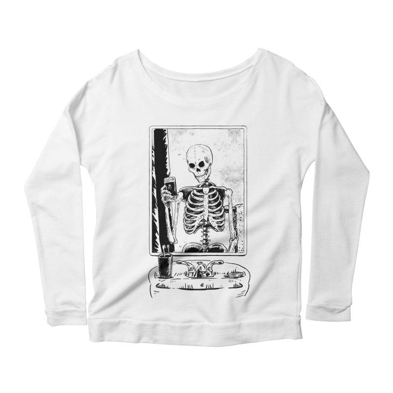 Skelfie Women's Scoop Neck Longsleeve T-Shirt by Iheartjlp