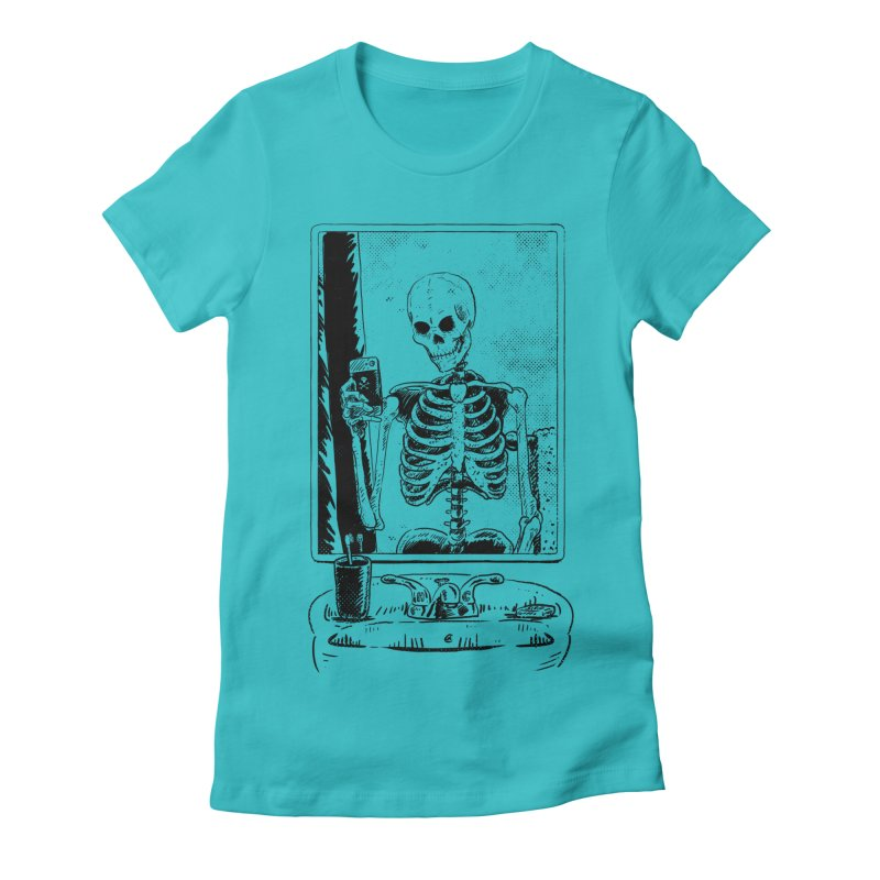 Skelfie Women's Fitted T-Shirt by Iheartjlp