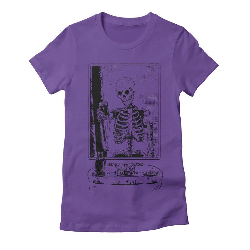 Skelfie Women's Fitted T-Shirt by Iheartjlp