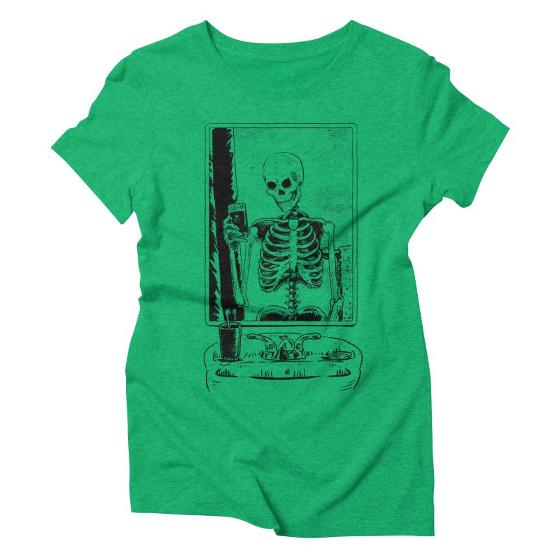 Skelfie Women's Triblend T-Shirt by Iheartjlp