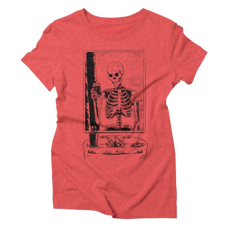 Skelfie Women's Triblend T-Shirt by Iheartjlp