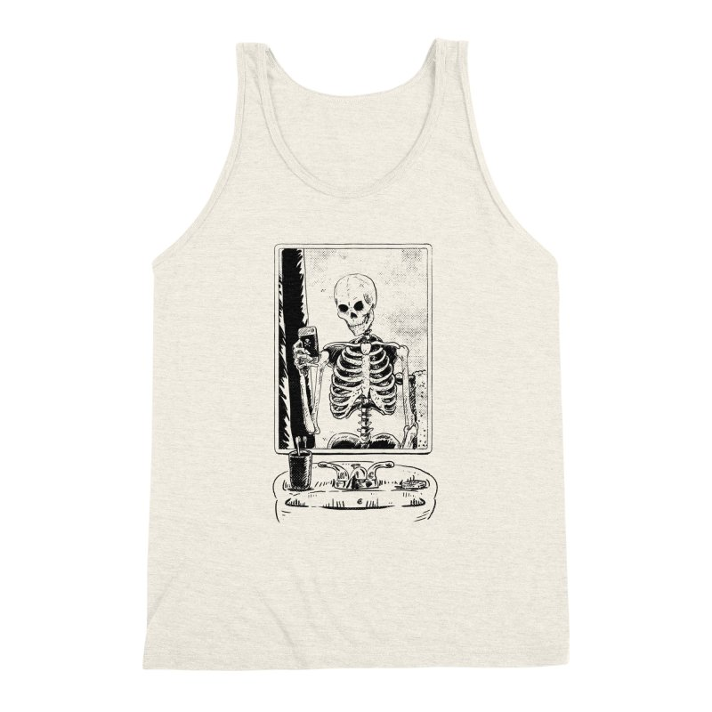 Skelfie Men's Triblend Tank by Iheartjlp