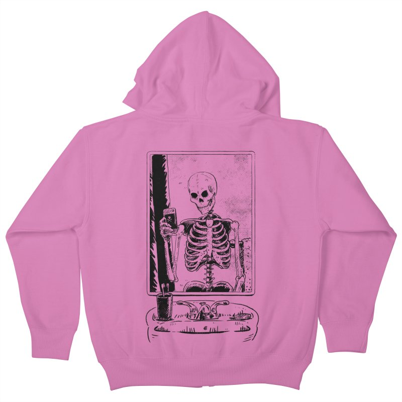 Skelfie Kids Zip-Up Hoody by Iheartjlp