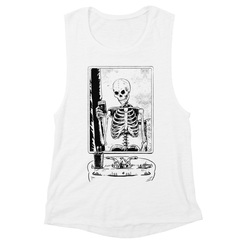 Skelfie Women's Muscle Tank by Iheartjlp