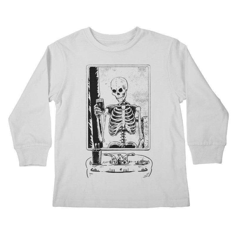 Skelfie Kids Longsleeve T-Shirt by Iheartjlp