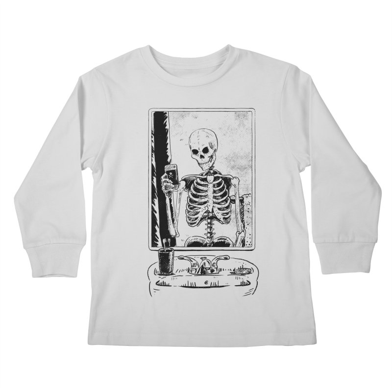 Skelfie Kids Longsleeve T-Shirt by Iheartjlp