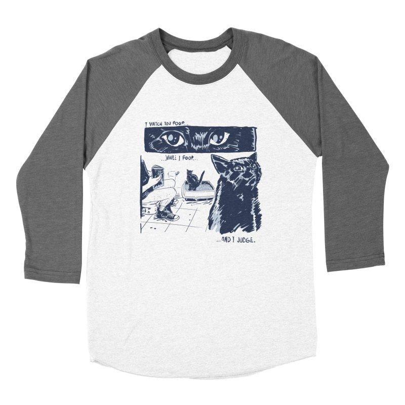 I Watch You Poop... Women's Longsleeve T-Shirt by Iheartjlp