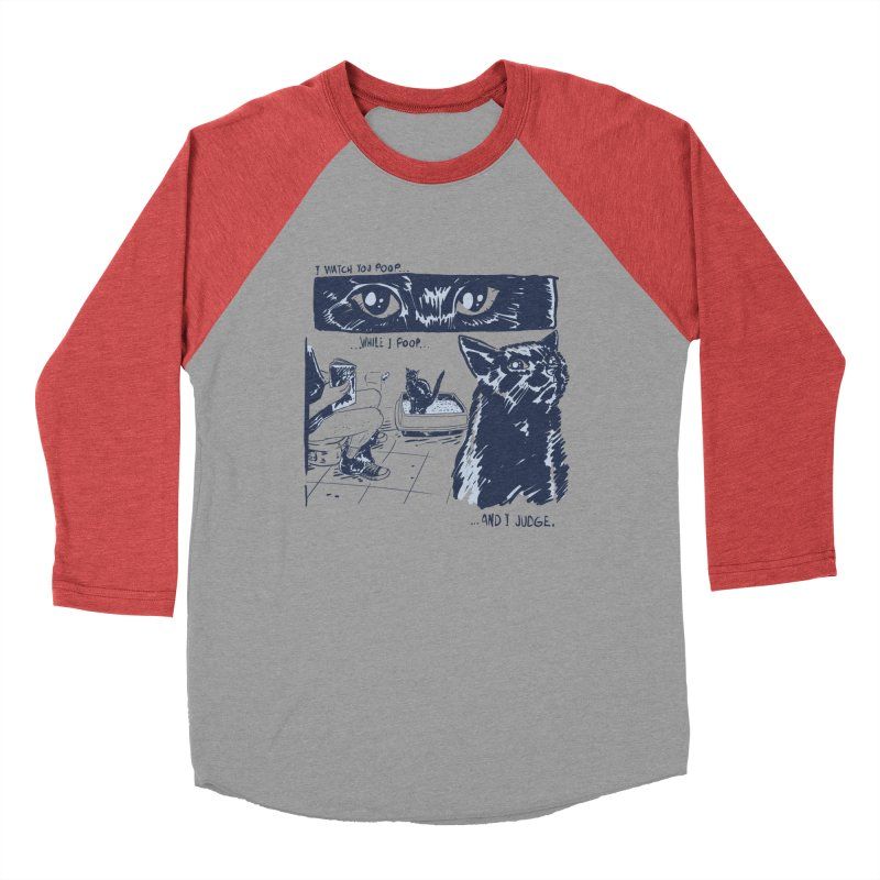 I Watch You Poop... Women's Baseball Triblend Longsleeve T-Shirt by Iheartjlp