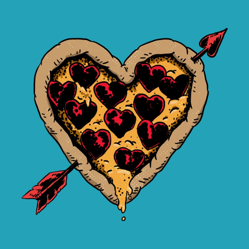 Pizza Love Men's Triblend Tank by Iheartjlp