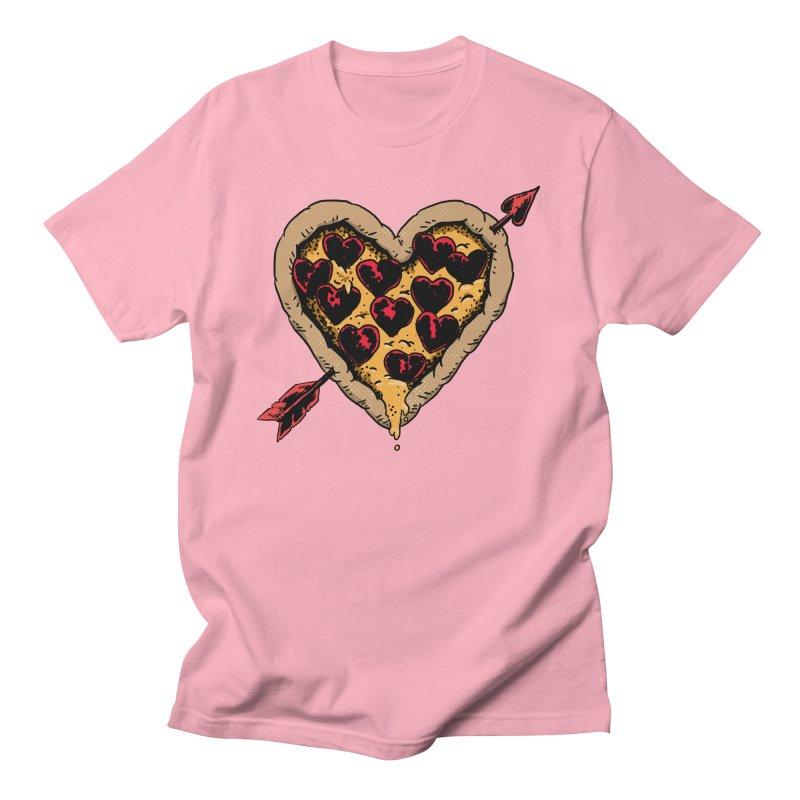 Pizza Love Men's T-Shirt by Iheartjlp