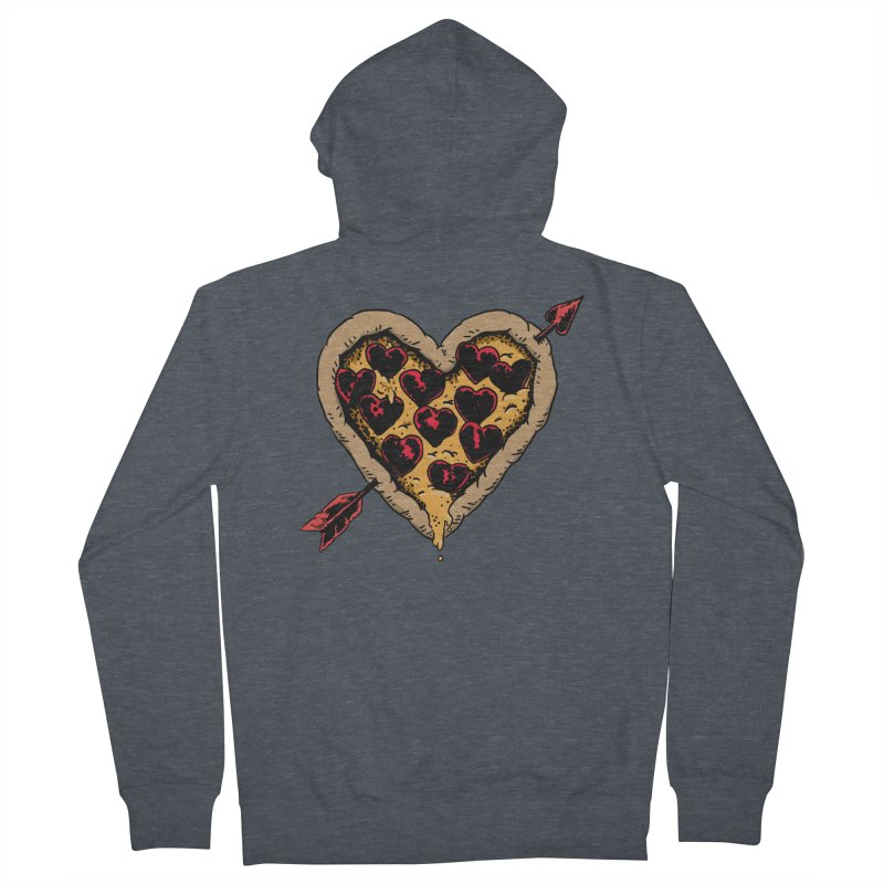 Pizza Love Women's Zip-Up Hoody by Iheartjlp