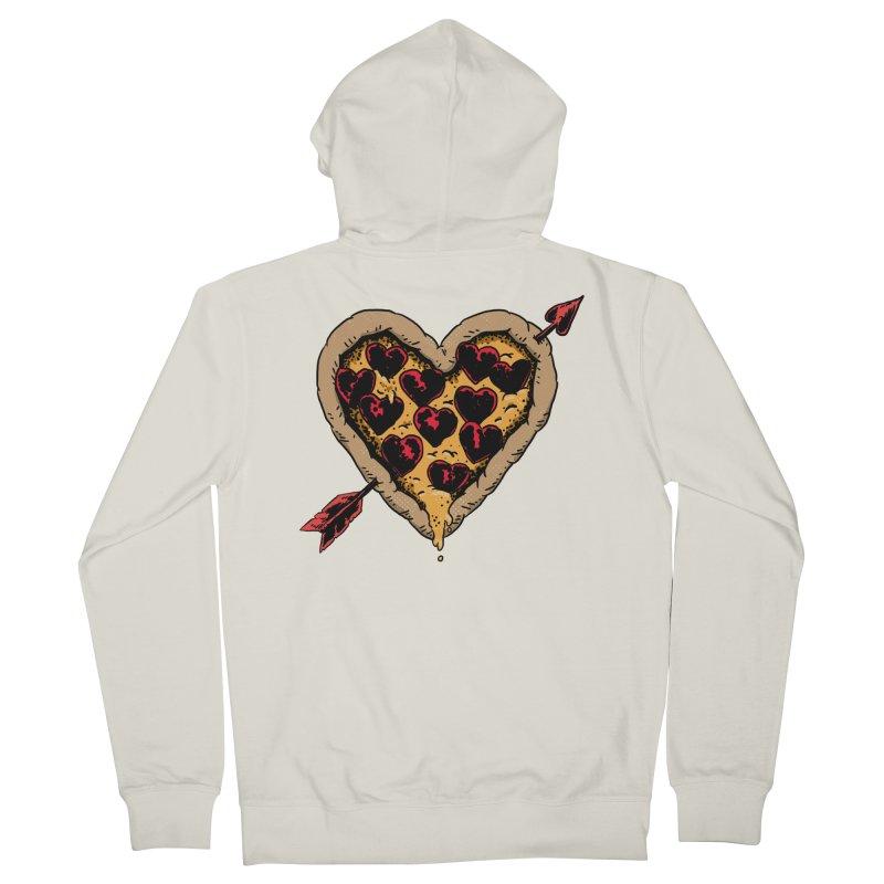 Pizza Love Women's Zip-Up Hoody by Iheartjlp