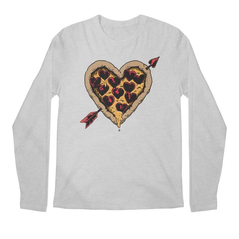 Pizza Love Men's Longsleeve T-Shirt by Iheartjlp