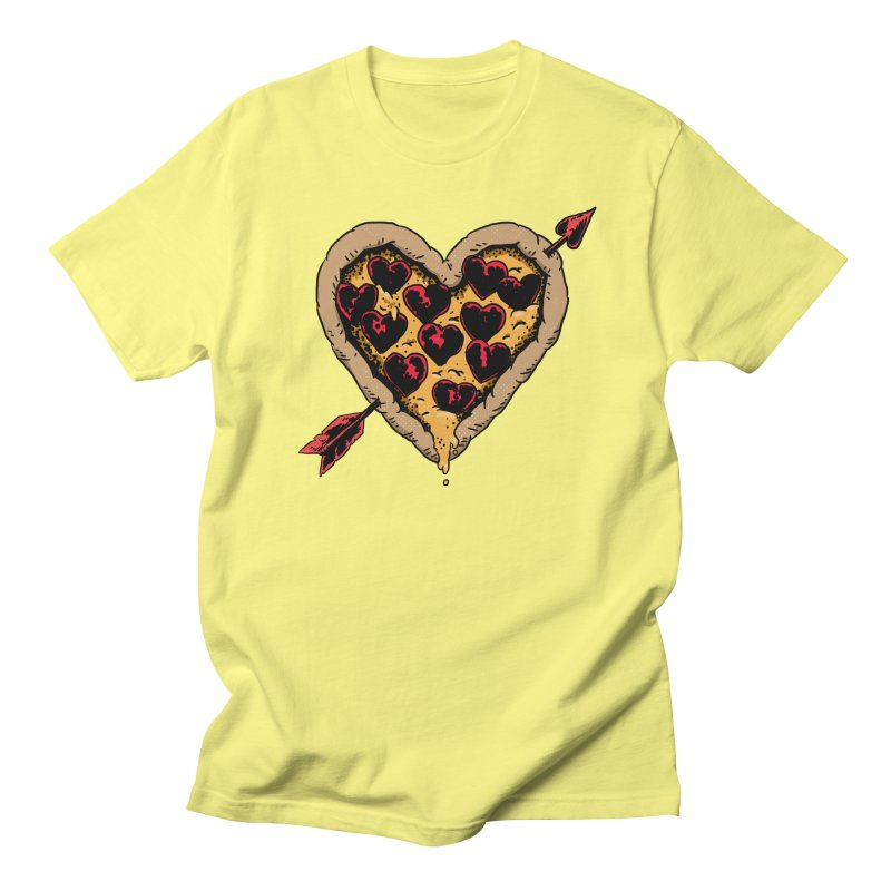 Pizza Love Men's T-Shirt by Iheartjlp