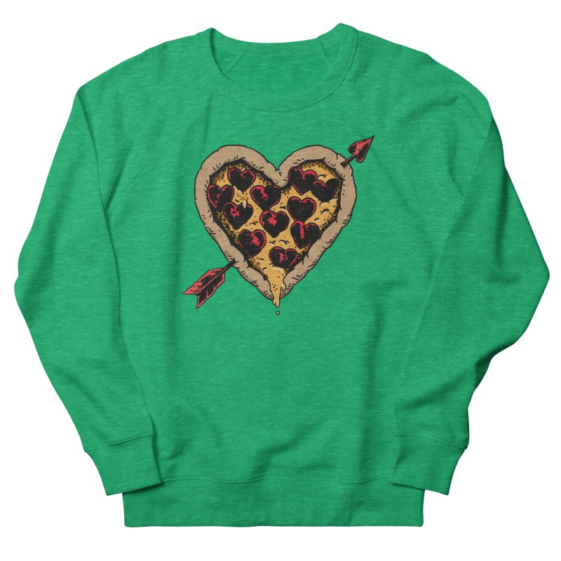 Pizza Love Women's Sweatshirt by Iheartjlp