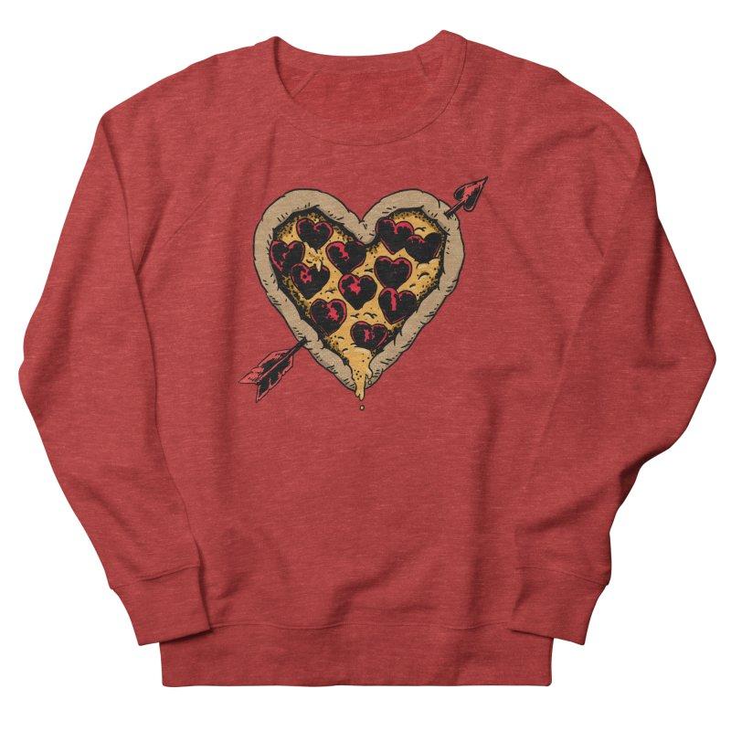 Pizza Love Men's Sweatshirt by Iheartjlp