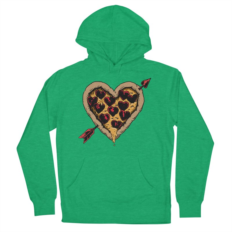 Pizza Love Women's Pullover Hoody by Iheartjlp