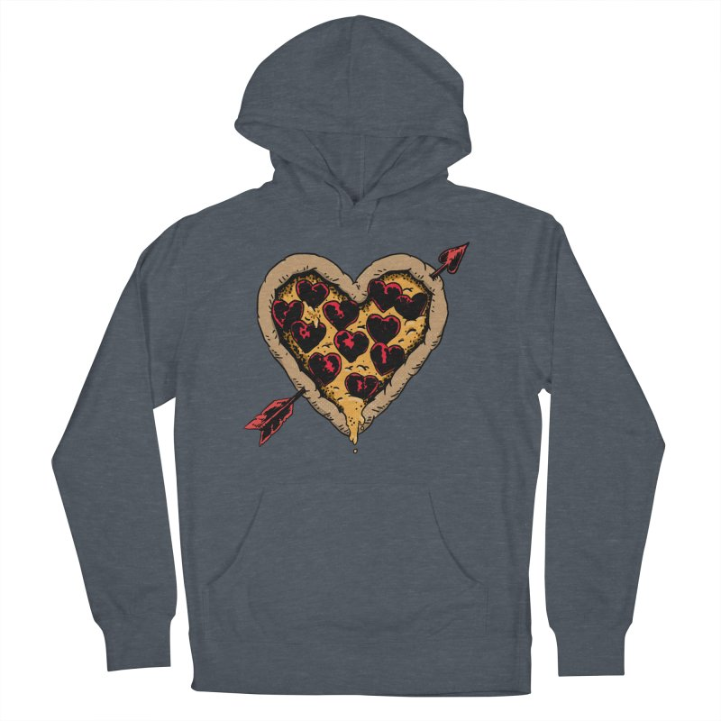 Pizza Love Women's French Terry Pullover Hoody by Iheartjlp