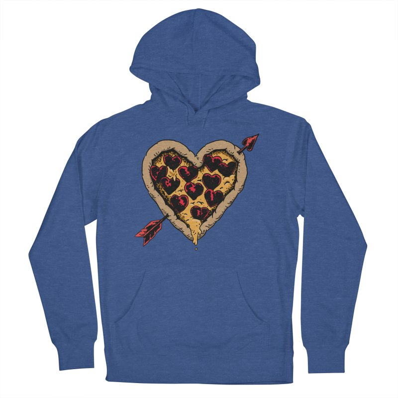 Pizza Love Men's Pullover Hoody by Iheartjlp