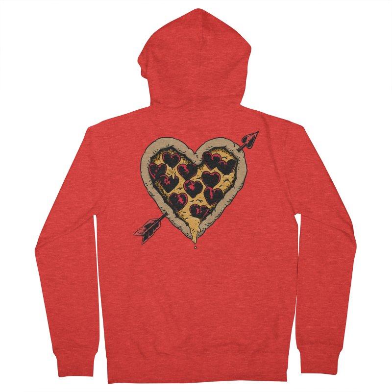 Pizza Love Men's Zip-Up Hoody by Iheartjlp