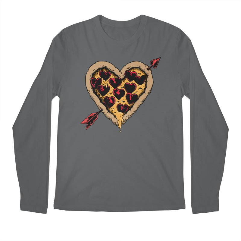 Pizza Love Men's Longsleeve T-Shirt by Iheartjlp