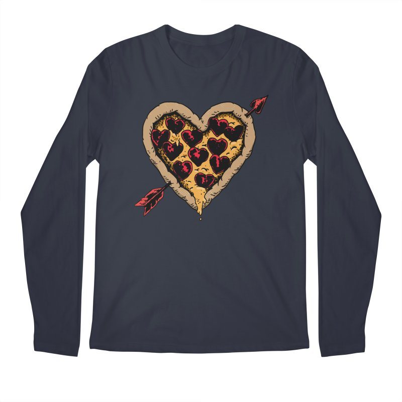 Pizza Love Men's Regular Longsleeve T-Shirt by Iheartjlp