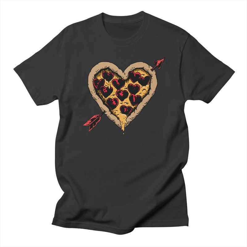 Pizza Love Men's Regular T-Shirt by Iheartjlp