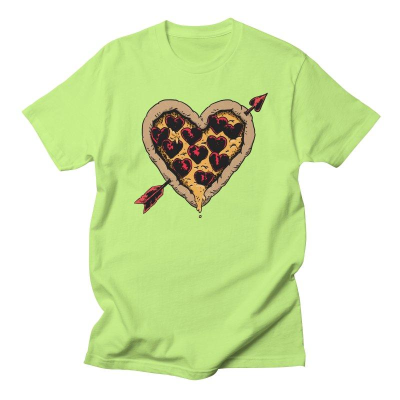 Pizza Love Men's Regular T-Shirt by Iheartjlp