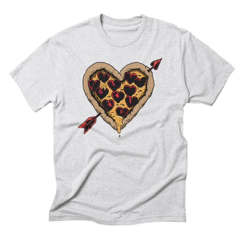 Pizza Love Men's Triblend T-Shirt by Iheartjlp