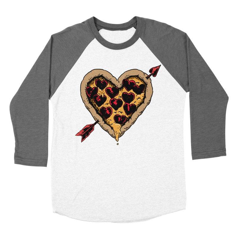 Pizza Love Women's Longsleeve T-Shirt by Iheartjlp