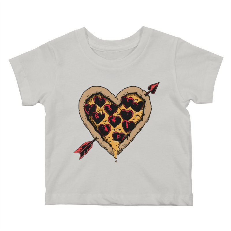 Pizza Love Kids Baby T-Shirt by Iheartjlp