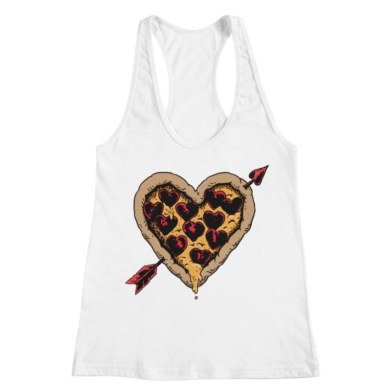 Pizza Love Women's Racerback Tank by Iheartjlp