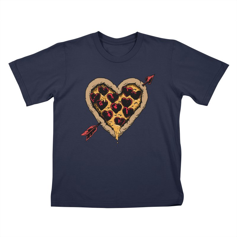Pizza Love Kids Toddler T-Shirt by Iheartjlp