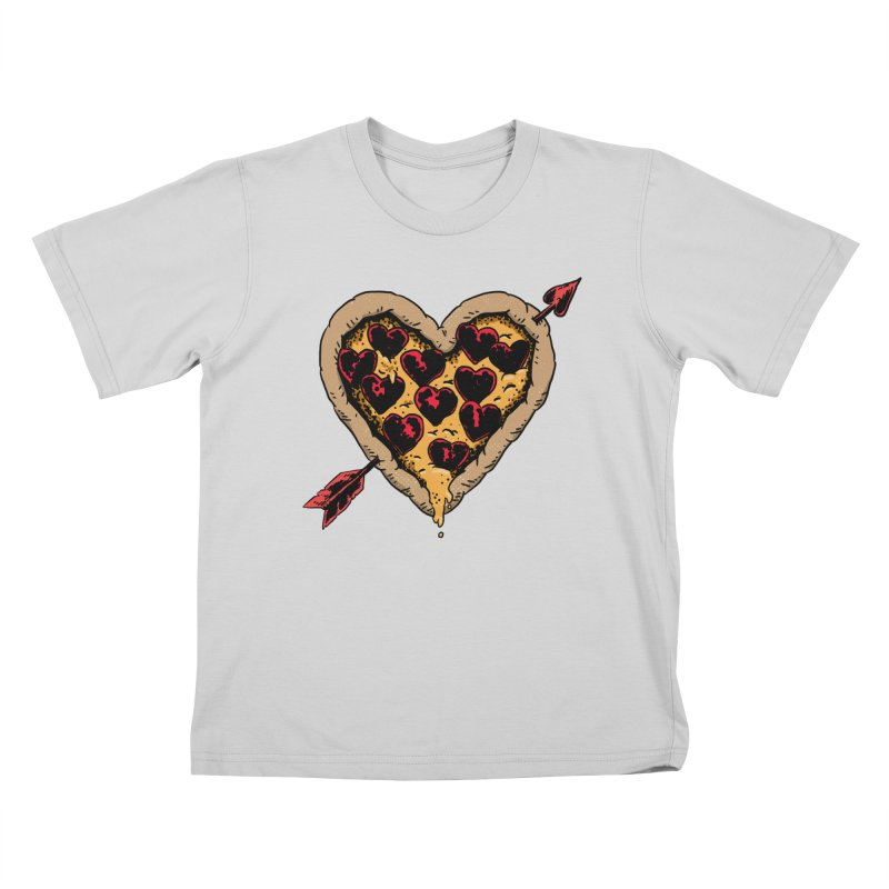 Pizza Love Kids T-Shirt by Iheartjlp