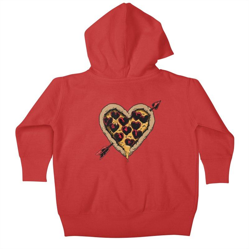Pizza Love Kids Baby Zip-Up Hoody by Iheartjlp