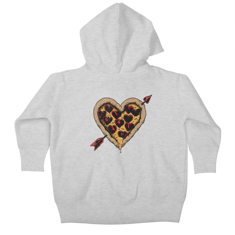 Pizza Love Kids Baby Zip-Up Hoody by Iheartjlp