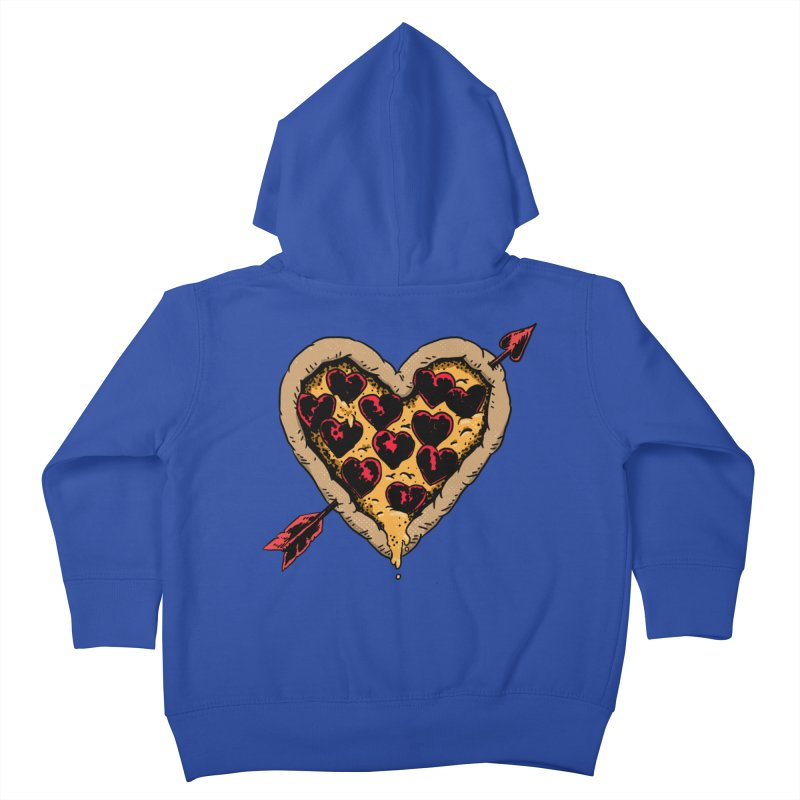 Pizza Love Kids Toddler Zip-Up Hoody by Iheartjlp