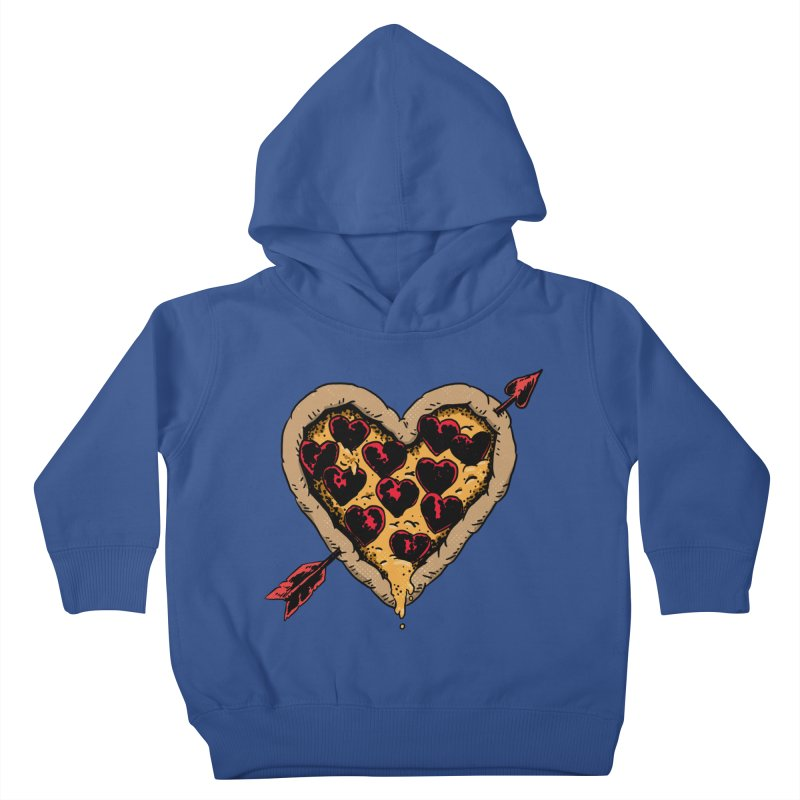 Pizza Love Kids Toddler Pullover Hoody by Iheartjlp